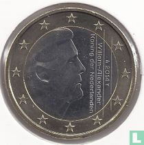 Netherlands 1 euro 2014