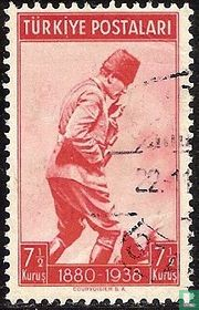 Atatürk op de Kocatepe berg