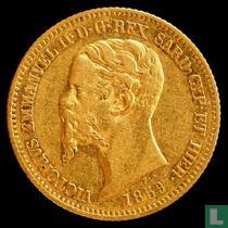 Sardinië 20 lires 1859 (P)