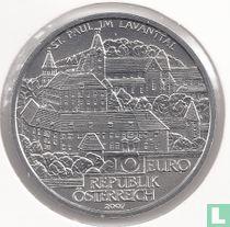 "Oostenrijk 10 euro 2007 (Special Unc) ""St. Paul im Lavanttal"""