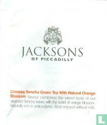 Chinese Sencha Green Tea with Natural Orange Blossem