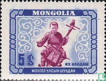 Feesten Mongoolse jeugd