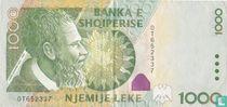 Albanië 1000 Lekë 2001