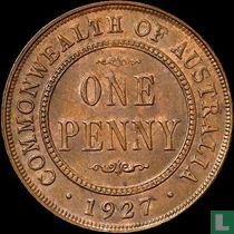 Australien 1 Penny 1927 (Indiasche Rückseite)