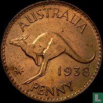 Australië 1 penny 1938