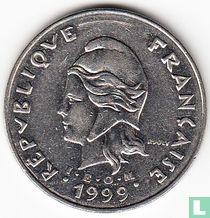 Frans-Polynesië 50 francs 1999