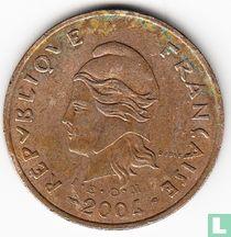 Frans-Polynesië 100 francs 2004