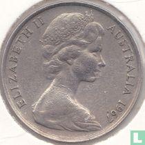 Australië 10 cents 1967