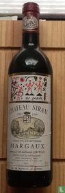 Château Siran, 1989, Grand Cru Exceptionel