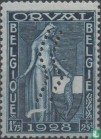 Eerste Orval, met perforatie