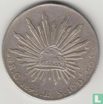 Mexico 8 reales 1895 (Go RS)