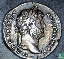 Romeinse Rijk, AR Denarius, 117-138 AD, Hadrianus, Rome, 134-138 AD