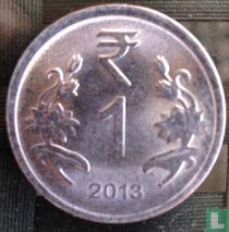India 1 rupee 2013 (Calcutta)