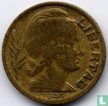Argentinië 5 centavos 1944