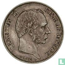 Denemarken 2 kroner 1875