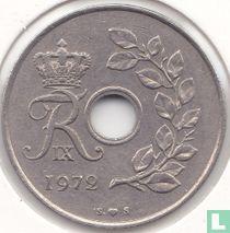 Denemarken 25 øre 1972