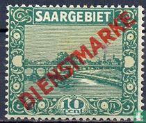 Pont à Sarrebruck, avec une impression