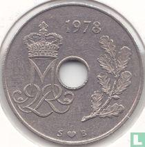 Denemarken 25 øre 1978