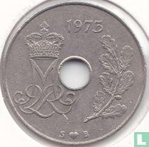 Denemarken 25 øre 1973