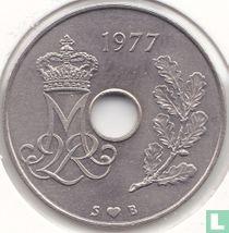 Denemarken 25 øre 1977