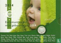 "Netherlands mint set 2014 ""Baby set boy"""