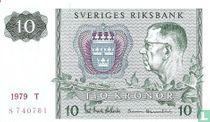 Schweden 10 Kronor 1979