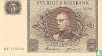 Schweden 5 Kronor 1954