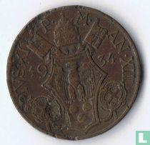 Vaticaan 10 centesimi 1934