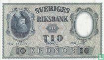 Schweden 10 Kronor 1962