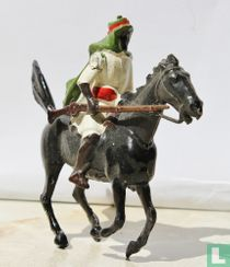 Arab on Horse with jezail