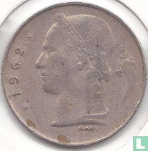 België 1 franc 1962 (FRA)