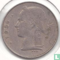 België 1 franc 1956 (NLD)