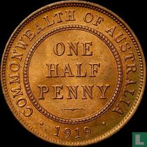 Australien ½ Penny 1919