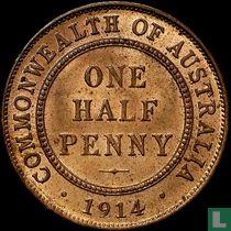 Australien ½ Penny 1914 (London)