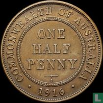 Australien ½ Penny 1916 (Mule)