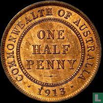 Australien ½ Penny 1913