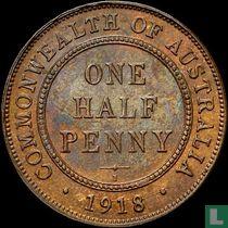 Australien ½ Penny 1918