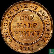 Australien ½ Penny 1911