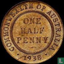 Australië ½ penny 1938