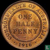 Australien ½ Penny 1916