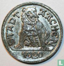 Aachen 10 pfennig 1920 (N 2 crossbars)