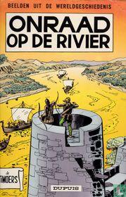 Onraad op de rivier