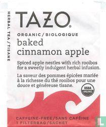 baked cinnamon apple