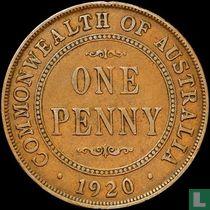 Australien 1 Penny 1920 (English reverse) (Sydney)