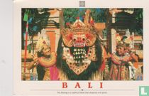 Bali - The Barong is a mythical beast that disperses evil spirits