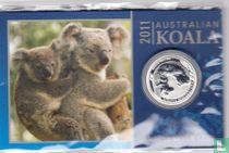 "Australië 10 cents 2011 (coincard) ""Koala"""
