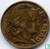 Argentinië 5 centavos 1950