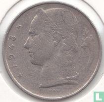 België 5 francs 1948 (NLD - met RAU)