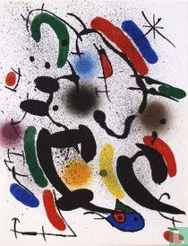Joan Miró - Litografia Original VI - Mourlot 862