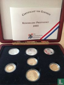 """Netherlands combination set 2005 (PROOF) """"Royal prestige set"""""""